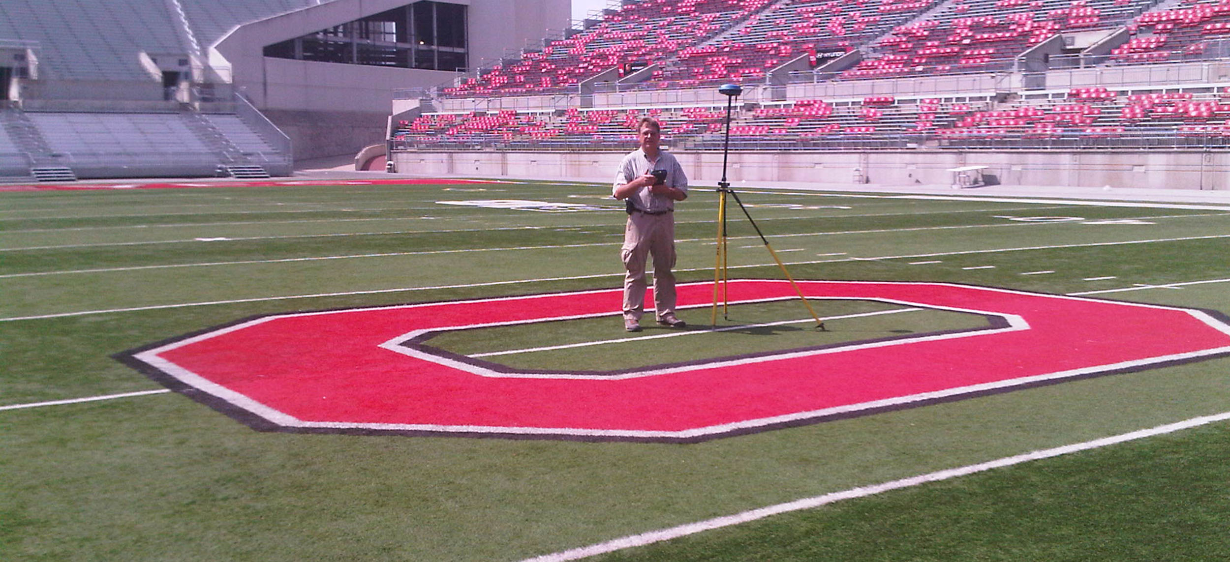 Benchmark Land Surveying OSU Stadium